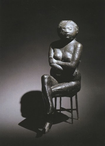 <em>Woman on Stool</em>, 1971