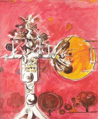 <em>Thorn Structure I</em>, 1971