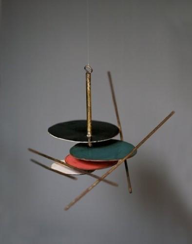 <em>Model for Mobile 1 (for International Union of Architects)</em>, 1961