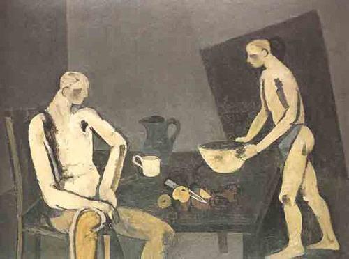 <em>Supper at Worpswede</em>, 1951