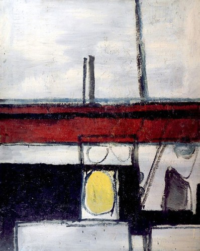 <em>Ocean Monument (Yellow Heartbeat)</em>, 1953