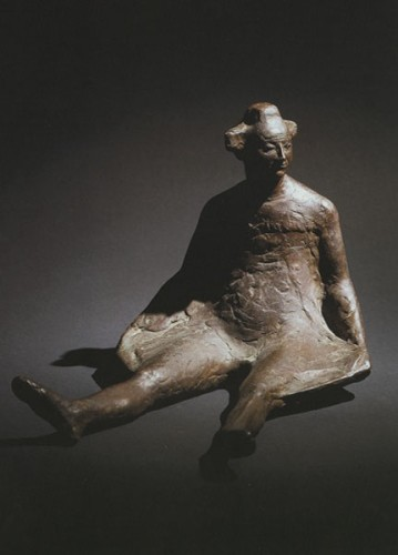 <em>Seated Clown</em>, 1983