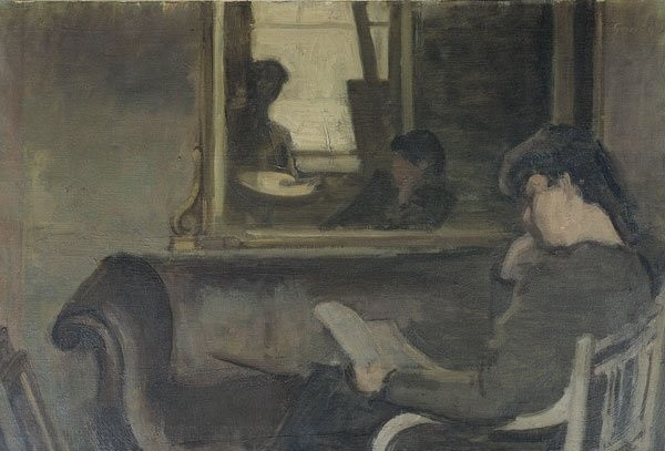 <em>The Painting Room</em>, 1945