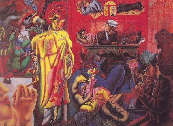 <em>The Opium Den</em>, 1933