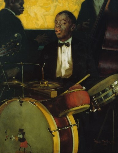 <em>The Jazz Drummer</em>