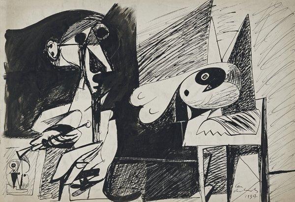 <em>The Sculptor</em>, 1934