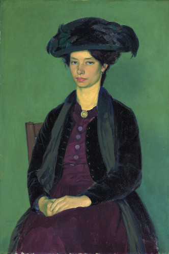 <em>Portrait of Edie McNeill</em>, 1909