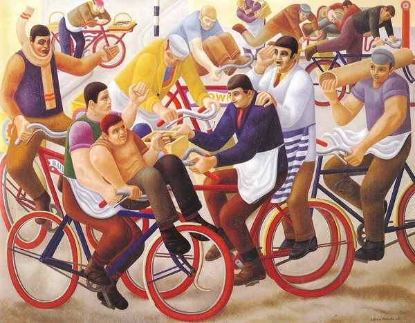 <em>Bicycle Boys</em>, 1939
