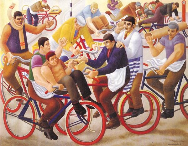 <em>Bicycle Boys</em>, 1939