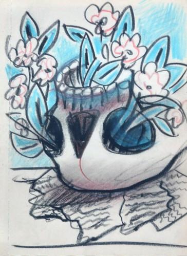 <em>The Flowering Skull</em>, c.1965