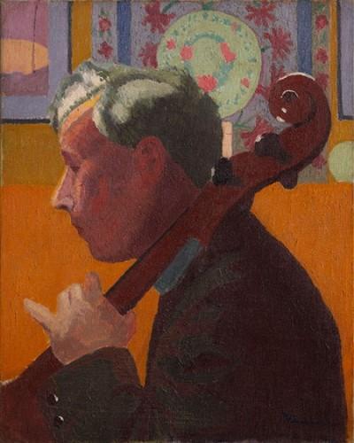 <em>The Cellist</em>, 1913