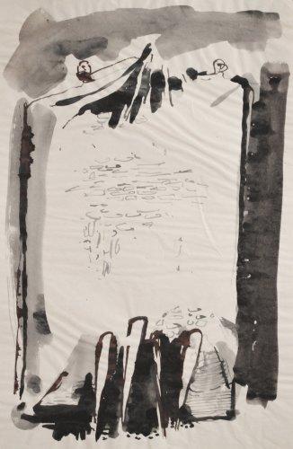 <em>Two Figures</em>, circa 1952