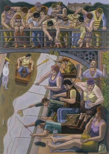 <em>The Fishing Contest</em>, 1964-65