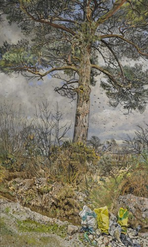 <em>Tree by Ditch in Winter</em>, 2004–11