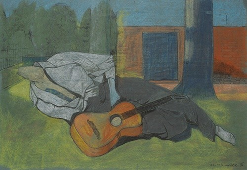 <em>Mannequin with Guitar</em>, 1938