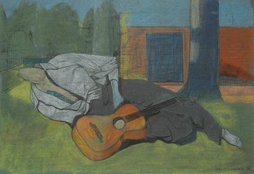 <em>Mannequin with Guitar</em>, 1938
