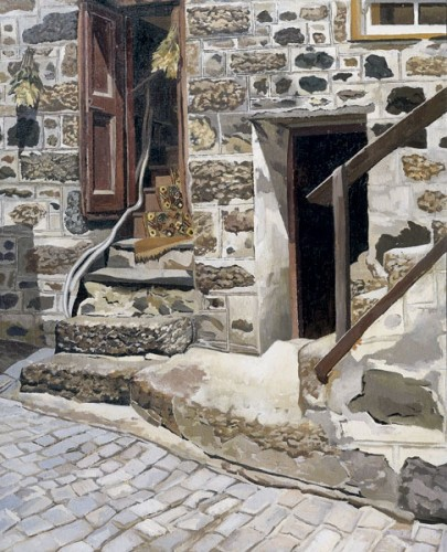 <em>Cottage at St Ives Back Street West</em>, 1938