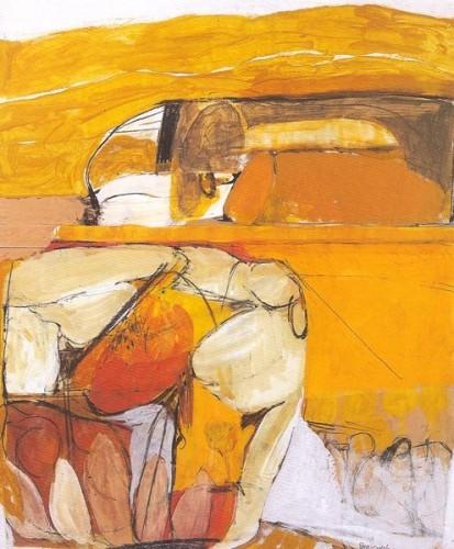 <em>Orange Gouache</em>, 1961