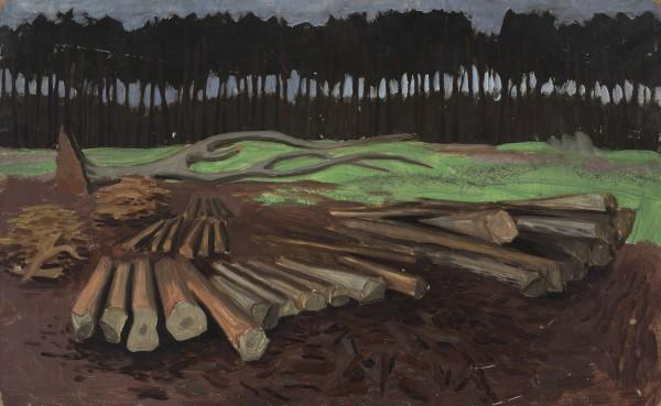 <em>Untitled (Landscape)</em>, circa 1940