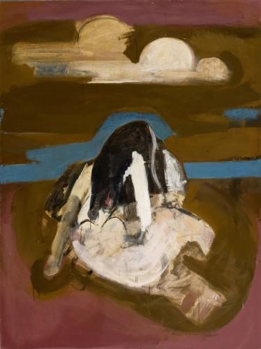 <em>Woman & Dog on the Beach I</em>, 1967