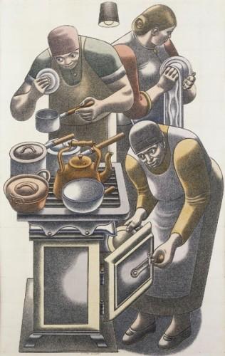 <em>The Kitchen</em>, c.1939
