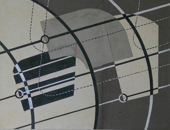 <em>Drawing for a Construction</em>, 1934