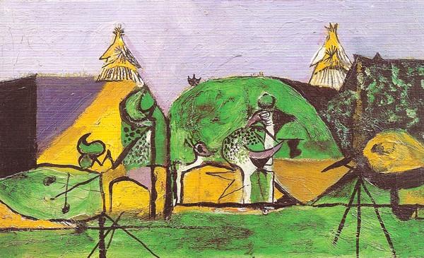 <em>Homage to Picasso</em>, 1947