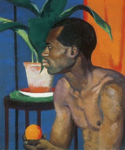 <em>Man With Orange</em>, 1920