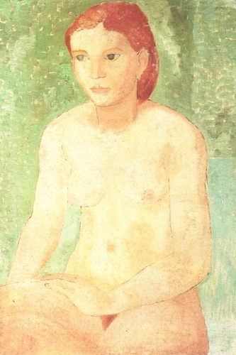 <em>Seated Nude</em>, 1928