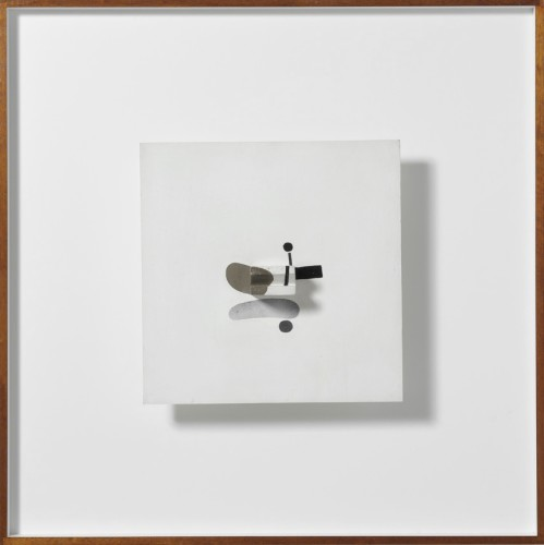 <em>Abstract in White, Black and Umber</em>, 1972
