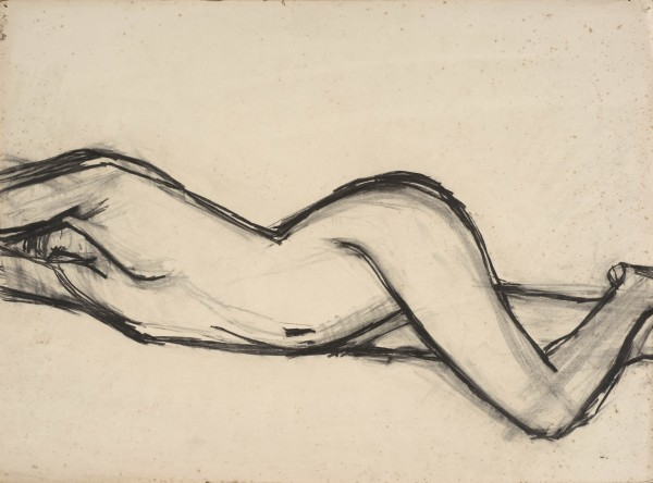 <span class=&#34;title&#34;>Stretching Figure<span class=&#34;title_comma&#34;>, </span></span><span class=&#34;year&#34;>c.1957</span>