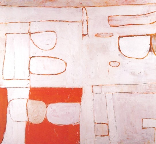 <em>Nile Valley: Red & White</em>, 1962