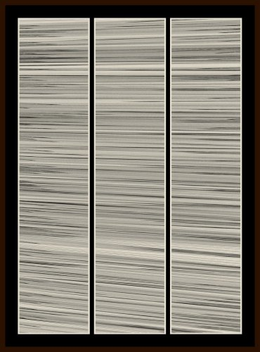 Kai & Sunny, Water lines, vertical - wood panel, 2013
