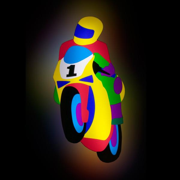 Marco Lodola - Moto, 2002