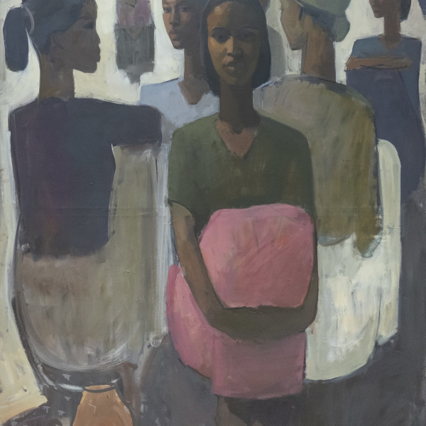 Tadesse Mesfin - Pillars of Life: Grace II, 2019