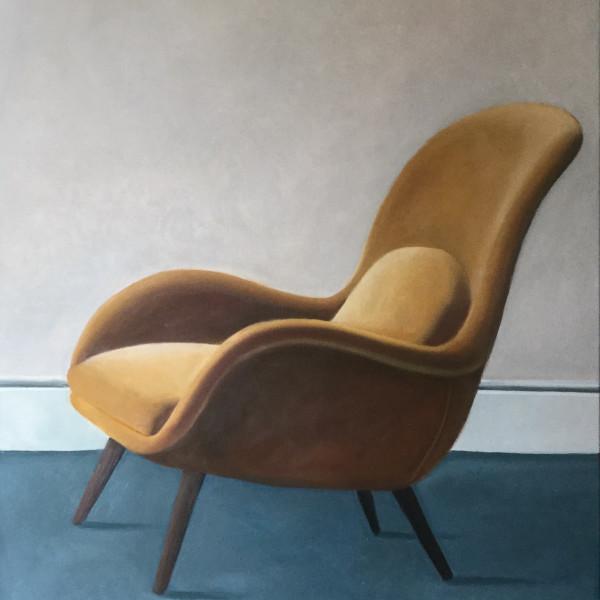 Agnes Pollock - Yellow Chair