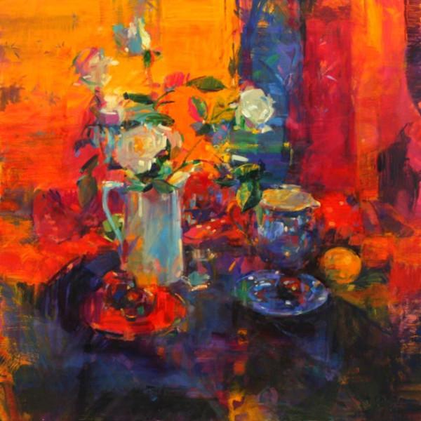 Peter Graham - Summer Roses, In Hong Kong