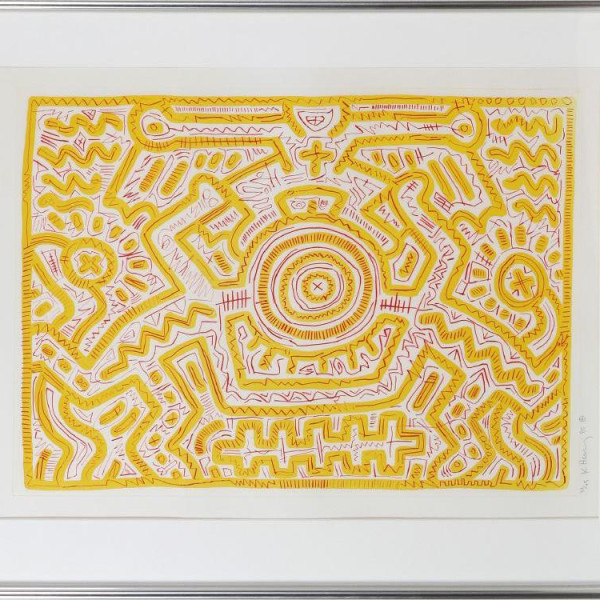 Keith Haring, Untitled 1985 *SOLD*, 1985
