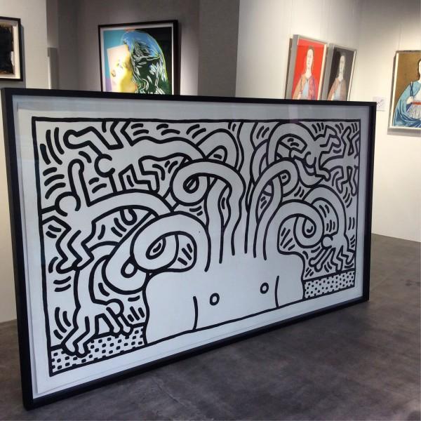Keith Haring, Medusa Head *SOLD*, 1986