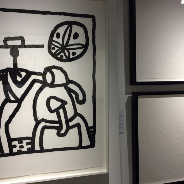 Keith Haring, Kutztown *SOLD*, 1989