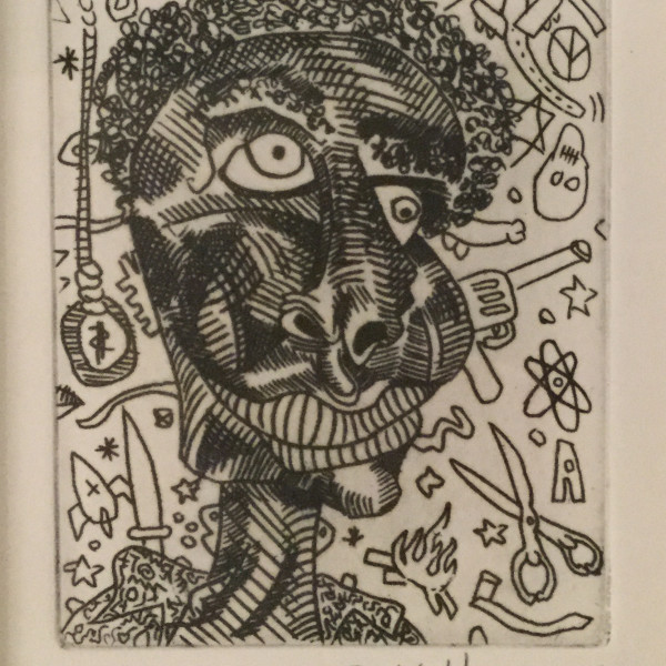 Keith Haring, Untitled *SOLD*, 1989