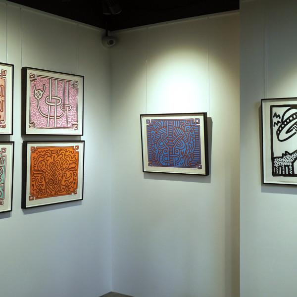 Keith Haring, Chocolate Buddha (Complete Portfolio), 1989