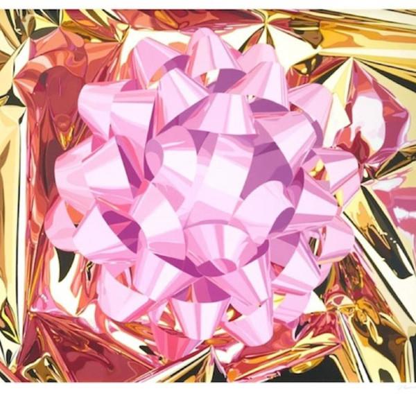 Jeff Koons, Pink Bow, 2013
