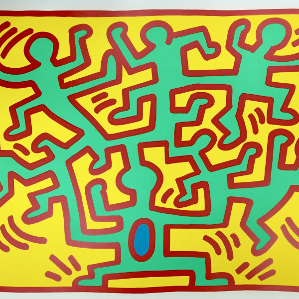 Keith Haring, Growing Suite (No. 2) *SOLD*, 1988