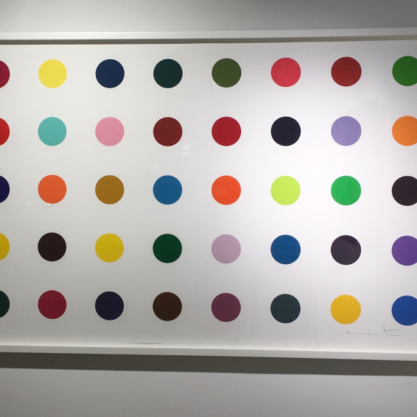 Damien Hirst, Methyl Phenylsulfoxide *SOLD*, 2010