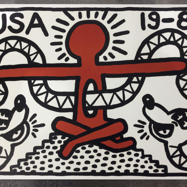 Keith Haring, Untitled, 1982 *SOLD*