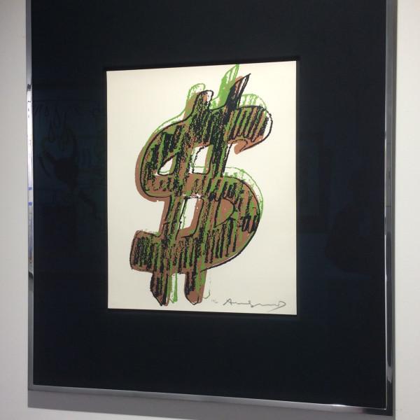 Andy Warhol, $ (1) UNIQUE , 1982
