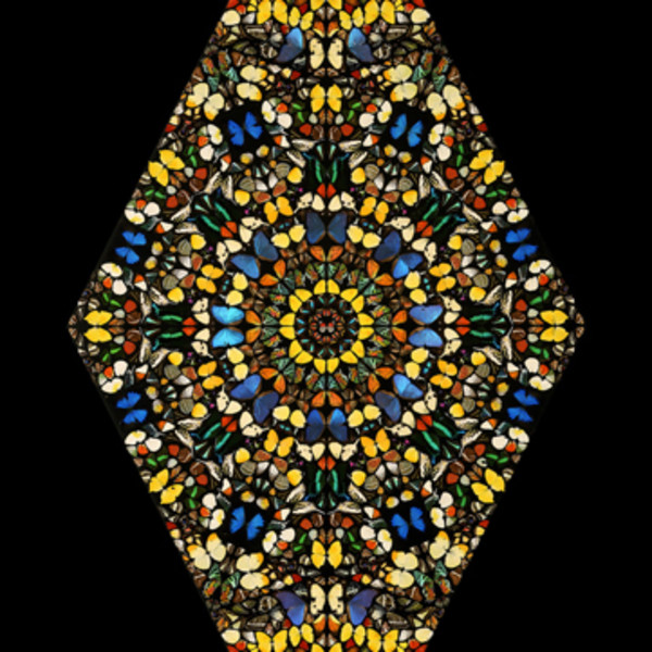 Damien Hirst, Sceptic original screen print w/glazes, 2006