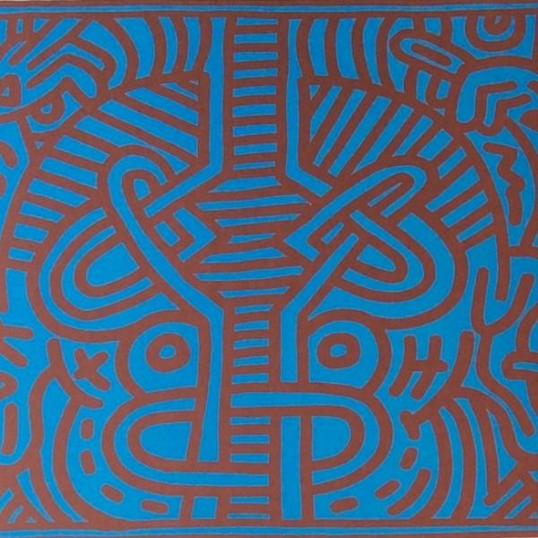 Keith Haring, Chocolat Buddah (No. 1), 1989