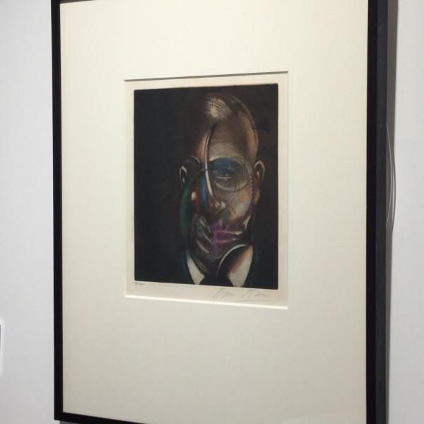 Francis Bacon, Portrait of Michel Leiris 1976, 1978